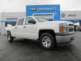 2014 Summit White Chevrolet Silverado 1500 WT Crew Cab #84669414
