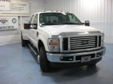 2010 Oxford White Ford F350 Super Duty Lariat Crew Cab 4x4 Dually #84669146