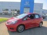 2013 Milano Red Honda Fit Sport #84669510