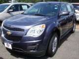 2013 Atlantis Blue Metallic Chevrolet Equinox LS AWD #84668962