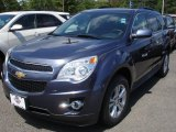 2013 Atlantis Blue Metallic Chevrolet Equinox LT AWD #84668958