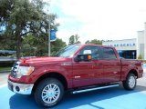 2013 Ruby Red Metallic Ford F150 Lariat SuperCrew #84669201