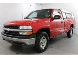 2001 Victory Red Chevrolet Silverado 1500 Regular Cab 4x4 #84668921