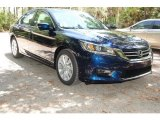2013 Obsidian Blue Pearl Honda Accord EX-L Sedan #84669018