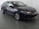 2013 Obsidian Blue Pearl Honda Accord LX Sedan #84669016
