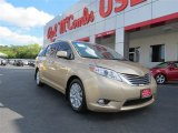 2011 Sandy Beach Metallic Toyota Sienna XLE #84713492
