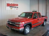2007 Victory Red Chevrolet Silverado 1500 Classic Z71 Extended Cab 4x4 #84713722