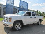 2014 Summit White Chevrolet Silverado 1500 LT Double Cab 4x4 #84713527