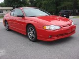 Victory Red Chevrolet Monte Carlo in 2004