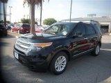 2014 Tuxedo Black Ford Explorer XLT #84713466