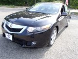 2010 Crystal Black Pearl Acura TSX Sedan #84713382