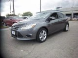 2014 Sterling Gray Ford Focus SE Hatchback #84713463
