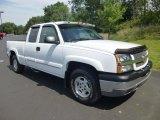 2004 Summit White Chevrolet Silverado 1500 Z71 Extended Cab 4x4 #84736268