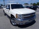 2012 White Diamond Tricoat Chevrolet Silverado 1500 LT Crew Cab #84739557