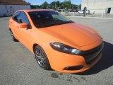 2013 Header Orange Dodge Dart SXT #84739504