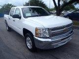 2013 Summit White Chevrolet Silverado 1500 LT Crew Cab #84739554