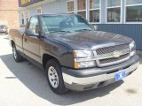2005 Dark Gray Metallic Chevrolet Silverado 1500 Regular Cab #84739510