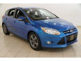 2012 Blue Candy Metallic Ford Focus SE Sport 5-Door #84739411