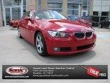 2009 Crimson Red BMW 3 Series 328i Convertible #84767033