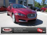 2013 Carnelian Red Metallic Jaguar XF I4 T #84767030