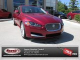 2013 Carnelian Red Metallic Jaguar XF Supercharged #84767028