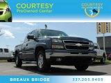 2007 Blue Granite Metallic Chevrolet Silverado 1500 Classic LT Extended Cab 4x4 #84767106