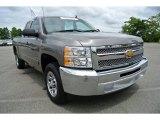 2013 Graystone Metallic Chevrolet Silverado 1500 LT Extended Cab #84767010