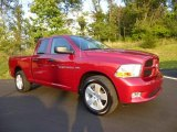 2012 Deep Cherry Red Crystal Pearl Dodge Ram 1500 Express Quad Cab 4x4 #84767154