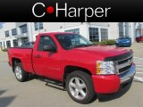 2008 Victory Red Chevrolet Silverado 1500 LS Regular Cab 4x4 #84766588