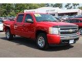 2007 Victory Red Chevrolet Silverado 1500 LT Crew Cab 4x4 #84766822