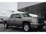 2007 Graystone Metallic Chevrolet Silverado 1500 LTZ Crew Cab 4x4 #84766800