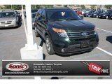 2013 Green Gem Metallic Ford Explorer Limited 4WD #84766576