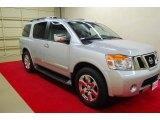 2012 Brilliant Silver Nissan Armada Platinum #84766787
