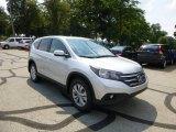 2013 Alabaster Silver Metallic Honda CR-V EX AWD #84767055