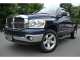 2007 Patriot Blue Pearl Dodge Ram 1500 Laramie Quad Cab 4x4 #84766960