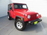 2006 Flame Red Jeep Wrangler X 4x4 #84766873