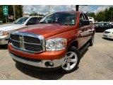 2008 Sunburst Orange Pearl Dodge Ram 1500 Big Horn Edition Quad Cab #84809925