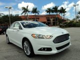 2013 Oxford White Ford Fusion SE 2.0 EcoBoost #84809633