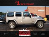 2013 Billet Silver Metallic Jeep Wrangler Unlimited Sahara 4x4 #84809521