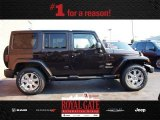 2013 Rugged Brown Pearl Jeep Wrangler Unlimited Sahara 4x4 #84809519