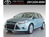 2012 Frosted Glass Metallic Ford Focus SEL Sedan #84810197