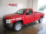 2013 Victory Red Chevrolet Silverado 1500 Work Truck Regular Cab #84810183