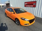 2013 Header Orange Dodge Dart SXT #84810173