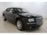 2008 Brilliant Black Crystal Pearl Chrysler 300 C HEMI AWD #84809988
