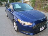 2013 Deep Impact Blue Metallic Ford Fusion SE #84809599