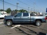 2014 Blue Granite Metallic Chevrolet Silverado 1500 LT Crew Cab 4x4 #84810163