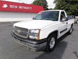 2004 Summit White Chevrolet Silverado 1500 Regular Cab #84810153