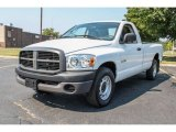 2008 Bright White Dodge Ram 1500 ST Regular Cab #84809890