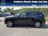 2014 Brilliant Black Crystal Pearl Jeep Grand Cherokee Summit 4x4 #84809673
