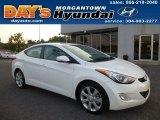 2013 Shimmering White Hyundai Elantra Limited #84810087